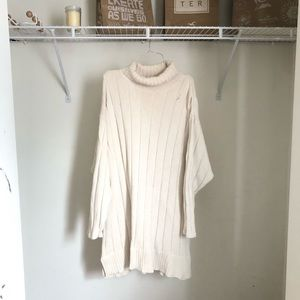 Plus Size Eddie Bauer Cable Turtleneck Sweater